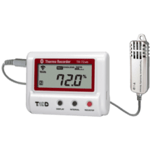 TR-72wb-S WiFi & Bluetooth Temperature Humidity Data Logger